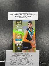 2013 AFL CHAMPIONS MILESTONE MG54 DOMENIC CASSISI PORT ADELAIDE