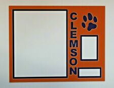 Picture Framing Mat Sports collectible photo and sports trading card Clemson