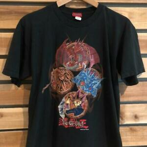 VTG 90s Yu-Gi-Oh Anime Cartoon 1996 Graphic Print YOUTH T Shirt L