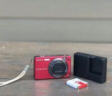 Sony Cyber-shot DSC-W150 8.1MP Digital Camera - PLUM COLOR /EXCELLENT CONDITION