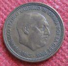 2.50 Pesetas Spagnole Francisco Franco Caudillo 1953 - n 980