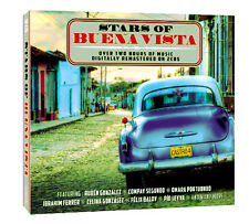 THE STARS OF BUENA VISTA BRAND NEW SEALED 2 CD SET IN CARD SLIP MUSIC OF CUBA