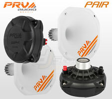 "PAIR PRV Audio D250Ph-S 1"" Phenolic Compression Driver FREE Horn WGP14-25 White"