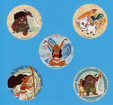 10 Moana Glitter - Large Stickers - Party Favors - Maui, Pua, Heihei