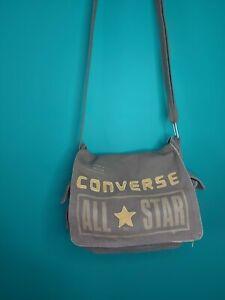 Classic Converse Cross Body army brown messenger Satchel Bag