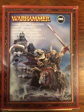 Manfred Von Carstein no-muertos Vampiro Lord Nueva En Caja Raro Warhammer metal fuera de imprenta