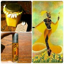 Oshun Orisha Soy Candle and Oil - Pumpkin Honey Cinnamon - Handmade - Yoruba