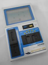 Rare Electronic Game & Watch Vintage CASIO CG-120 MOTORBOAT RACE 1983