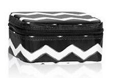 Thirty one Baubles & Bracelets Jewelry Box case 31 gift bag Black Chevron b