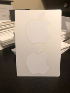 Apple Logo Sticker New Genuine Authentic OEM Lot or Single
