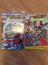 Marvel Comics Avengers Kree-Skrull War 1983 Special Edition Issues 1 - 2 - VGC