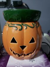 Full size Scentsy Warmer Jack O Lantern   used excellent condition no box