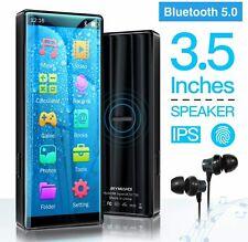Mymahdi 8Gb Mp3 Player, Bluetooth 5.0, High Resolution & Full Touch Screen, Fm