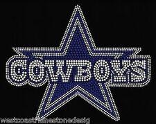 Dallas Cowboys Rhinestone Iron on Transfer         FLXL