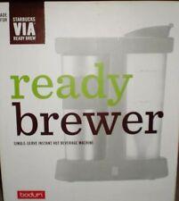Starbucks Via Ready Brewer With Stainless Travel Mug NIB GREAT GIFT !!