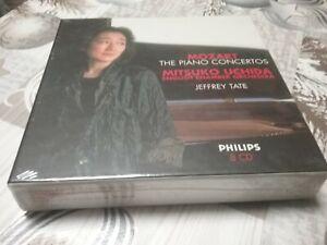 Mozart: Die Klavierkonzerte - M. Uchida - TOP Einspielung 8 CD NEU Klavier - PHI