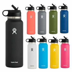 Hydro Flask 40Oz Water Bottle Wide Mouth | Straw Lid 2.0 Bottle
