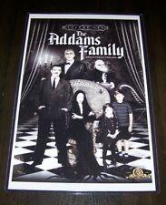 The Addams Family Relatively Freaky 11X17 TV Show Poster Original Cast