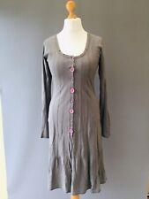 Mais Il Est Ou Le Soleil Dress UK 8 10 Long sleeve Midi French Designer Z18
