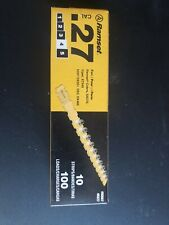 New Ramset 4Rs27 Box (100) Powder Actuated Cal .27