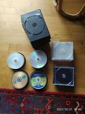Konvolut CD und DVD Rohlinge und Hüllen