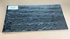 """KIRINITE: Black Pearl 1/8"""" 6"""" x 12"""" Sheet for Wood Working, Knife Making, Bush"""