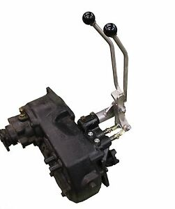 Jeep Commando / Jeepster D-20 twin-stick stainless 3-sp PN D20JJS T-Case Shifter