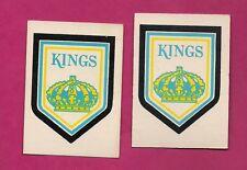 2 X 1977-78 OPC # 329 LA KINGS   TEAM LOGO  CARD (INV# A2157)