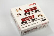Märklin H0 48777 Tuborg Bierwagen Set DSB Top aus Projektüberbestand OVP