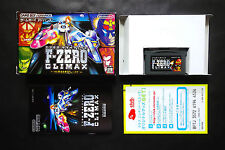F-ZERO CLIMAX GAMEBOY ADVANCE GBA JAPAN Very.Good.Condition