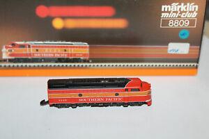 Märklin Z 8809 US Diesellok F7 der SOUTHERN PACIFIC  (6446) - Neuzustand + OVP