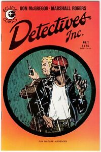 Detectives Inc #1 (Eclipse, 1985) by Don McGregor & Marshall Rogers FN/VF