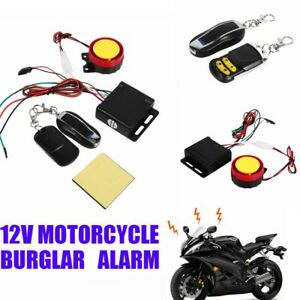 Motorcycle Alarm System For Sale Ebay
