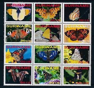 [SU1499] Suriname Surinam 2008 Butterflies  MNH