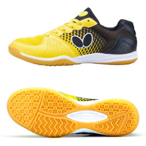 Butterfly Lezoline Vilight Table Tennis Shoes Yellow