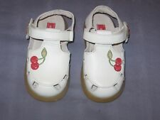 "NWOB  stride rite  CAMILLE JR. "" Cherries "" Sandal  Size 6 1/2W"