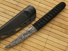 """CRKT 2367 BURNLEY OBAKE FIXED BLADE KNIFE 7 5/8"""" LENGTH with MOLDED SHEATH NEW"""