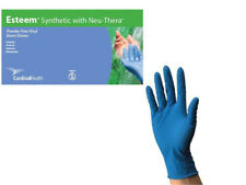 Blue Vinyl Gloves, Stretchy, 4.8mil Thick, Latex-Free Exam, X-Large by Cardinal