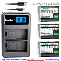 Kastar Battery LCD Dual Charger for Nikon EN-EL15 MH-25 Nikon D7500 DSLR Camera