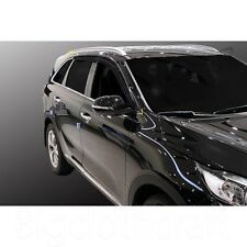 New Smoke Side Window Vent Visors Rain Guards for Kia 16-17 Sorento
