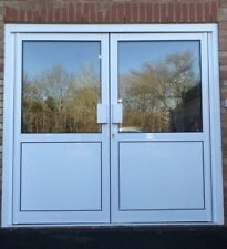 NEW ALUMINIUM SHOP FRONT ENTRANCE DOORS DIRECT FROM THE MANUFACTURER FROM £1399