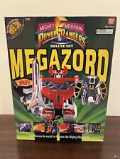 Bandai Mighty Morphin Power Rangers Deluxe Set Megazord 1993 Never Played With