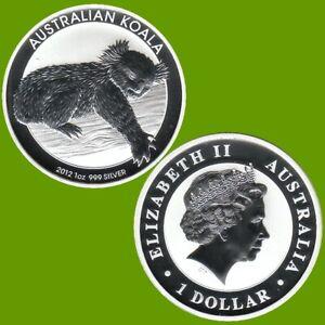 Australien 1 $ Silbermünze Koala 2012 1Oz Silber