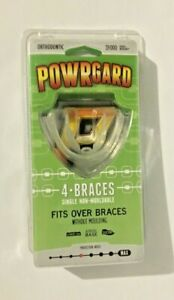 Powrguard - 4 Brace Mouldable Mouth Guard Protection for Braces and Orthodontia
