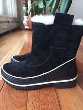 Sorel Tivoli II Pull On Waterproof Black Ankle Boot SZ US 6