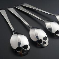 Kaffeelöffel Skulls Crossbones Rockabilly Totenkopf Teelöffel Zuckerlöffel NEU