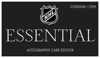 NHL Hobby Box - Essential Memorabilia Edition - 1 card per box - Hockey  + coa