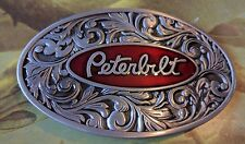 New design Peterbilt logo metal Belt Buckle Beautiful gift Peterbilt motors
