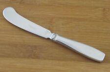 """Georg Jensen Plata Satin Butter Spreader Knife 6 1/4"""" Denmark Stainless Flatware"""