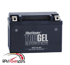 Bike Master MG12A-BS (YT12A-BS) Tru Gel Powersports Battery